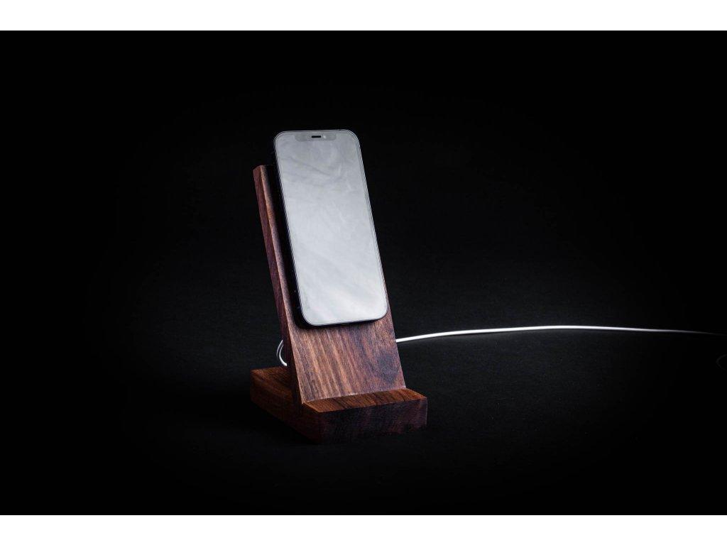 Držiak na MagSafe nabíjačku CEFERINO drevený