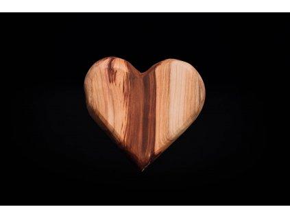 Srdiečko CEFERINO drevené